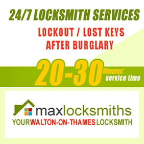 Walton-on-Thames locksmiths